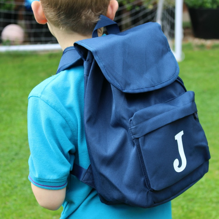 Getting School Ready With Stuck On You - Personalised Backpacks The Oliver\\\'s Madhouse