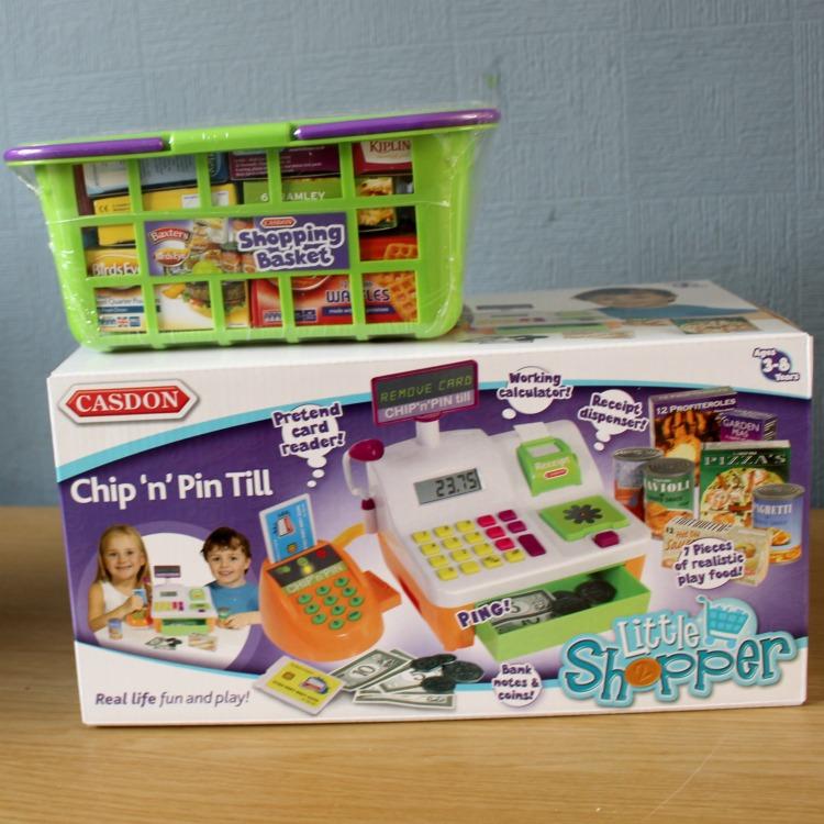 Casdon Chip /'n/' Pin Till Brand New Great Gift