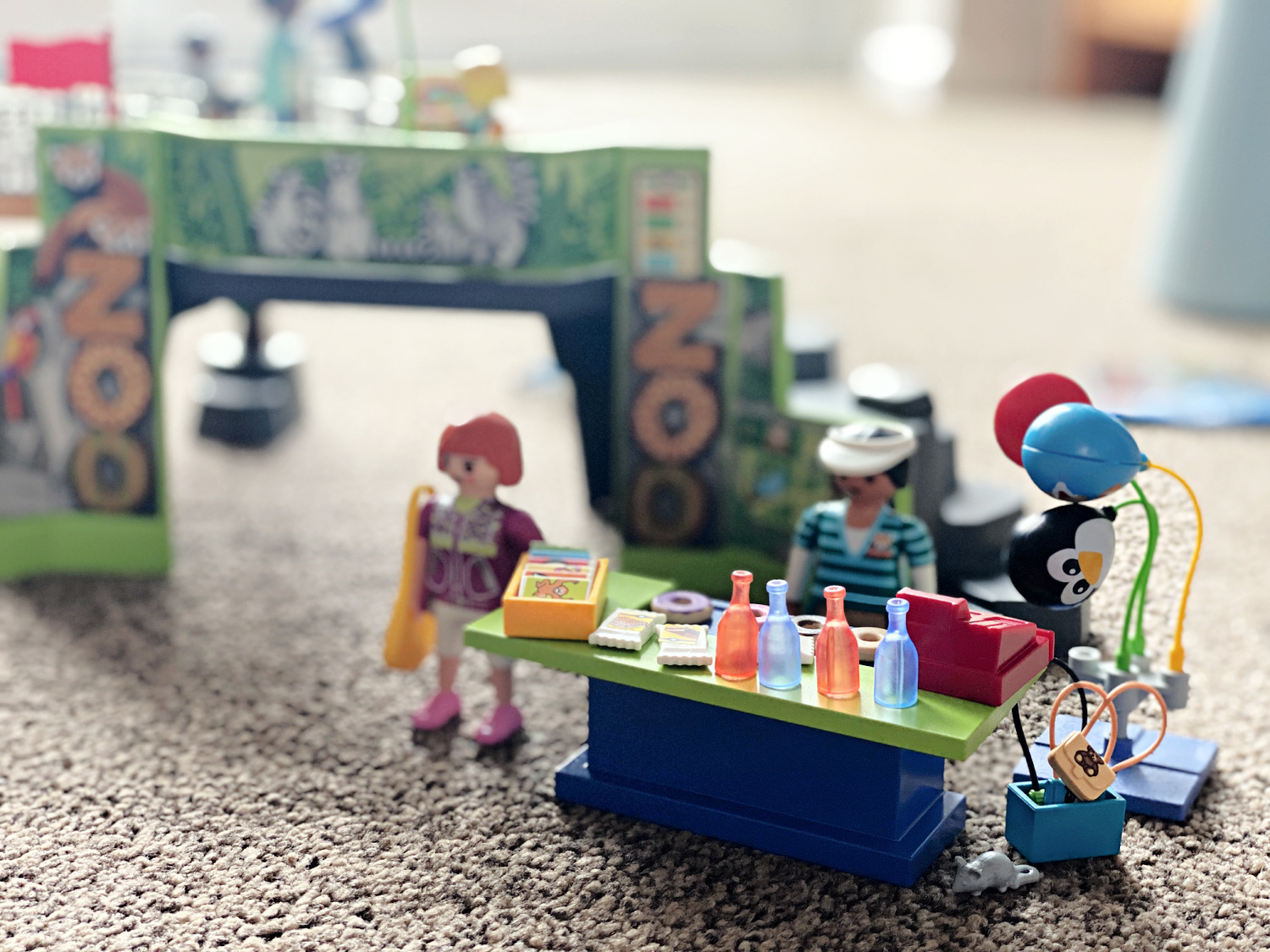 Playmobil Large City Zoo - A Review #AD The Oliver\'s Madhouse